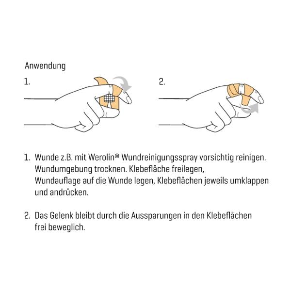 Fingergelenkpflaster Weroplast® MasterTex Bild 3