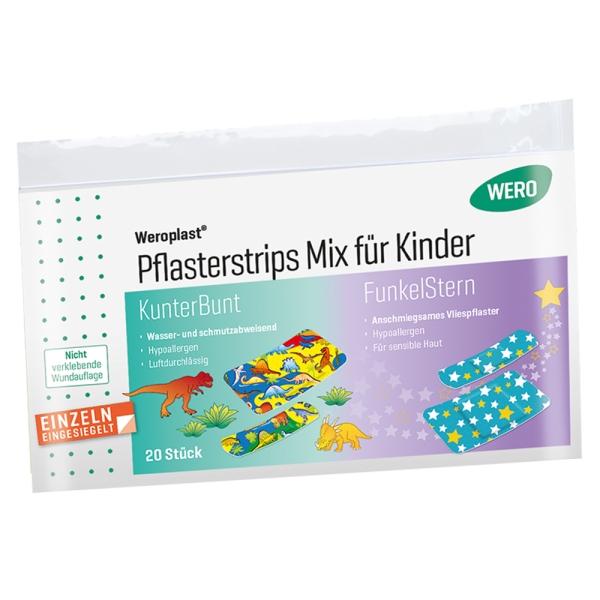 Weroplast® Pflasterstrips Mix für Kinder, 20 Stk/Pkg