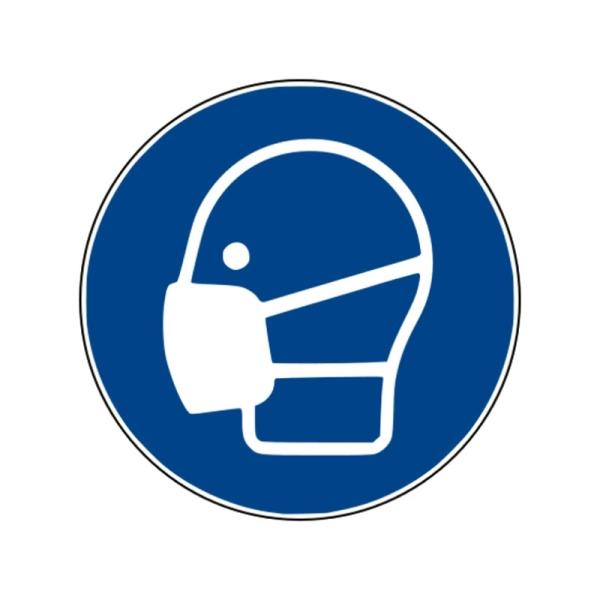 Gebotszeichen: Maske benutzen
