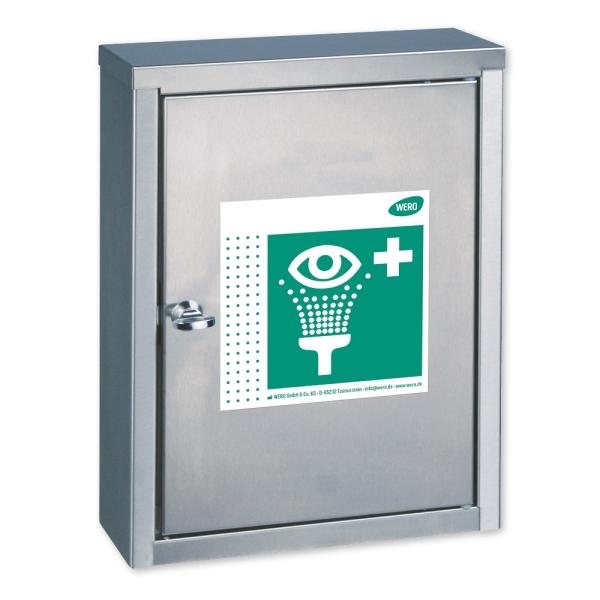 WERO Augenspülstation Modell V4A, leer