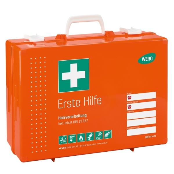 Werotop® 450 Erste Hilfe Koffer Holzverarbeitung DIN 13157