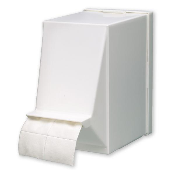 Spenderbox (leer) für 1 Rolle Zellstofftupfer
