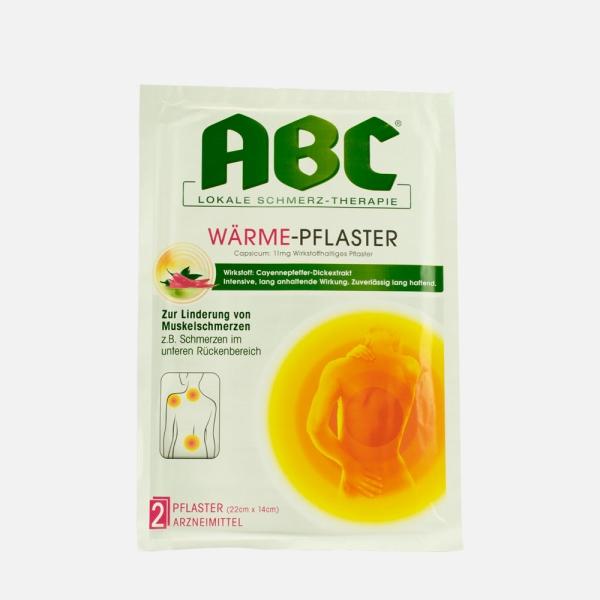 Hansaplast med ABC Wärme-Pflaster, 2 Stk