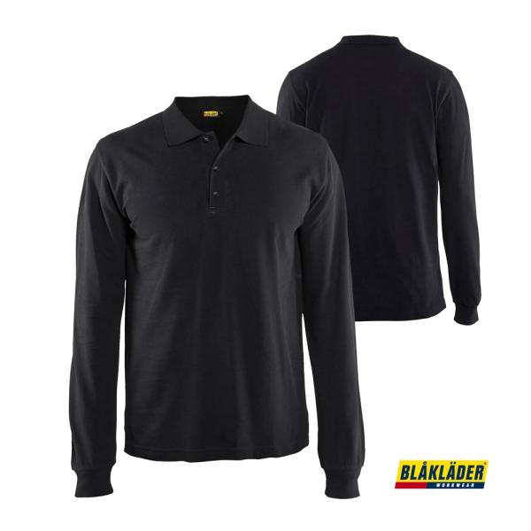 BLÅKLÄDER® Langarm Polo Shirt