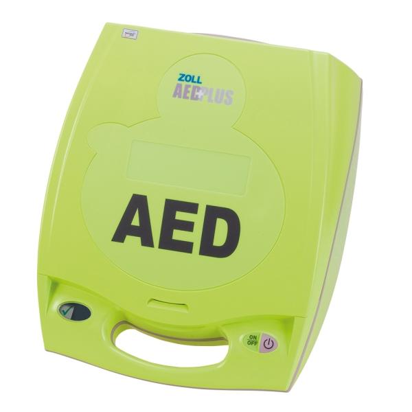 ZOLL AED Plus Halbautomat, mit Display, ohne Sprachaufzeichnung