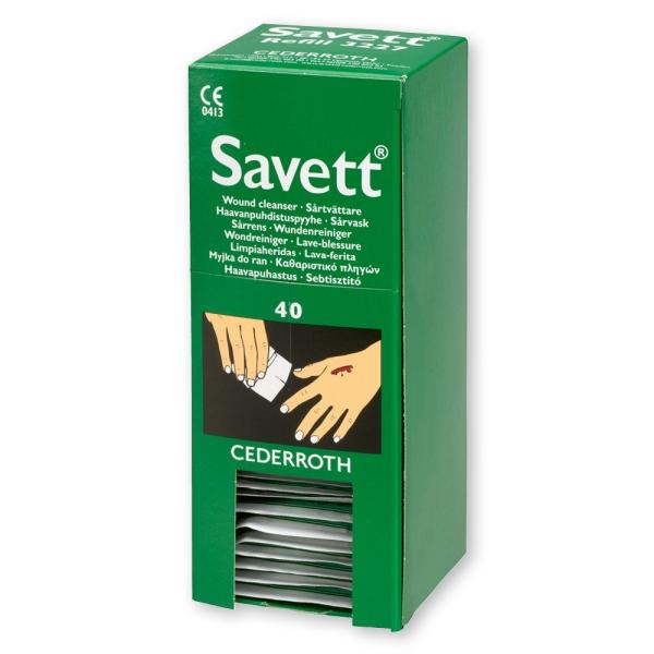 Wundreinigungstücher Savett® Bild 2