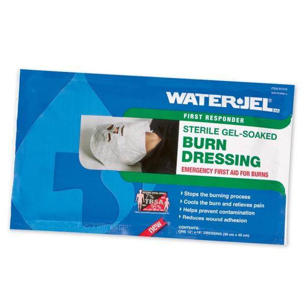 WATER-JEL® HA First Responder Gesichtskompresse, steril Bild 2